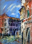 Corner of The Grand Canal, Venice